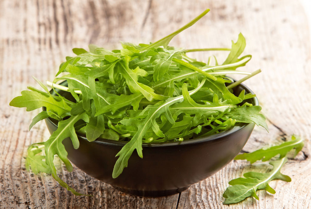 巧食芝麻菜益处多 抗氧化助消化强化血管一把抓