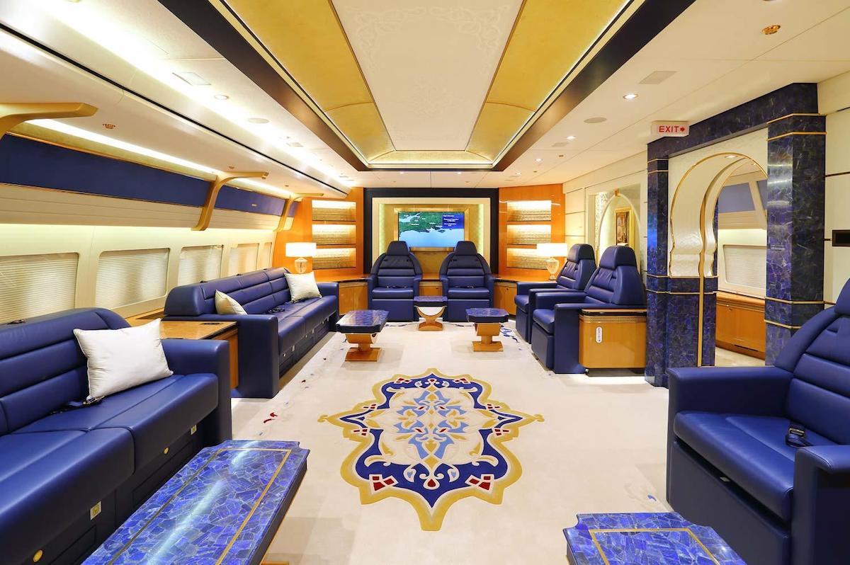 这架奢华的卡塔尔皇室专机现在是土耳其总统的了