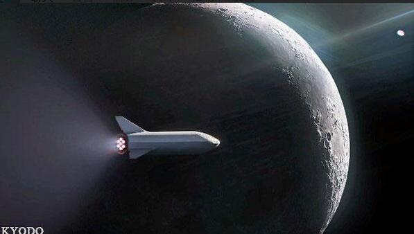 """SpaceX首位绕月飞行旅客""""揭面"""":日本人前泽友作"""