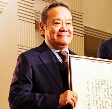 """日本演员西田敏行荣获福岛县""""县民荣誉奖"""""""