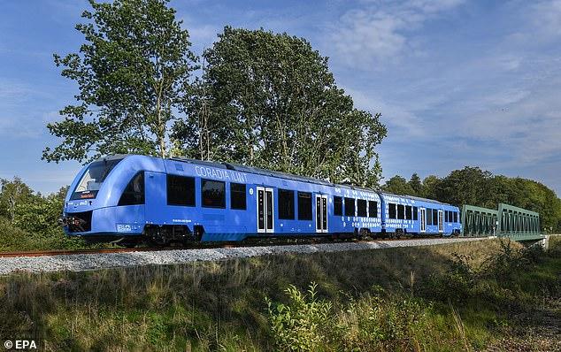 铁路运输启电气化征程 氢动力列车在德投入运营