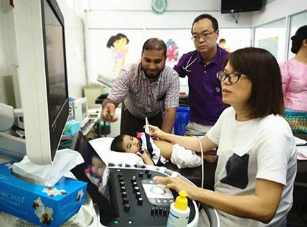 中华慈善总会缅甸先心病儿童救助行动再次扬帆起航