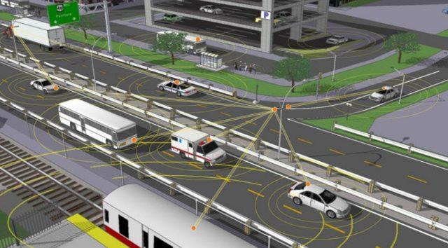 PSA集团在华展示网联车V2X通信技术