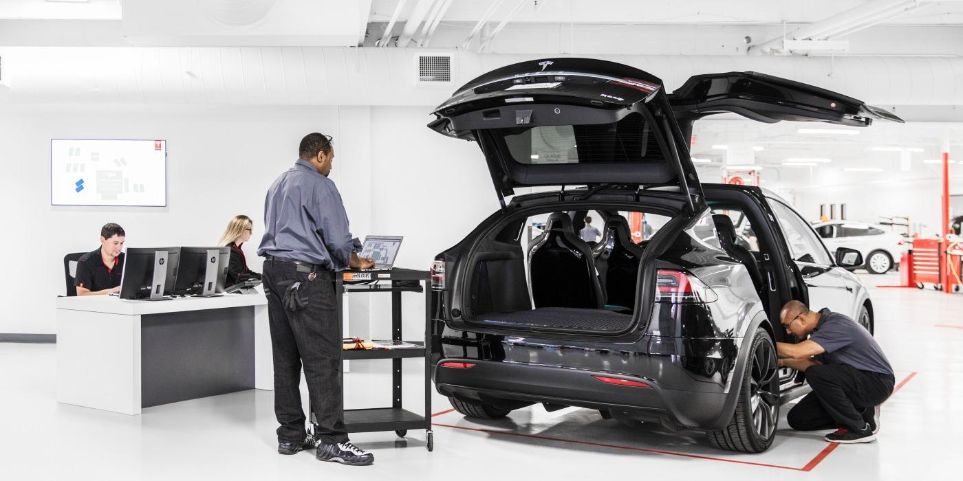 特斯拉有意自主完成车辆维修服务 缩短修复时间