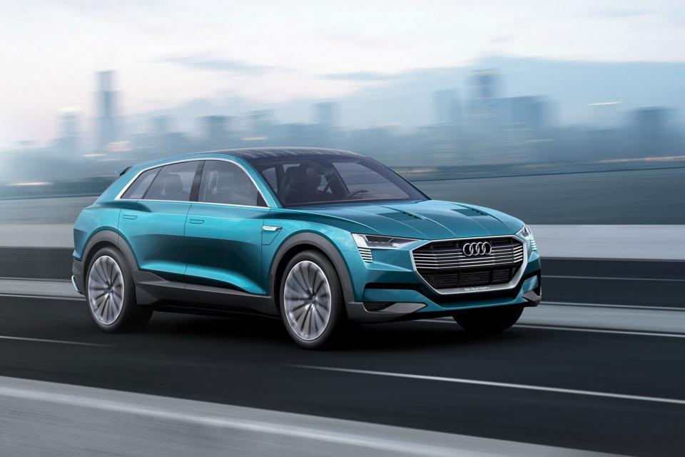 奥迪2025年前将推12款电动汽车 基于4大平台