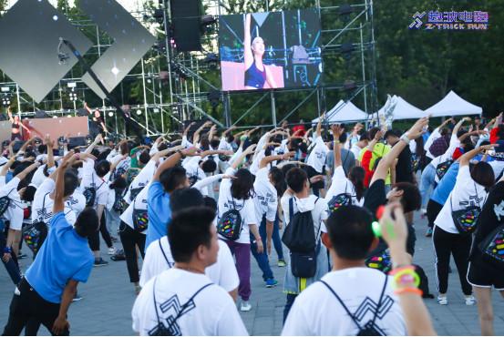 2018爱夸热波电跑北京站顺利举办马拉松冠军领跑星际之旅