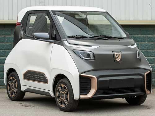 宝骏E200已提交工信部申报 六种车身套色可选