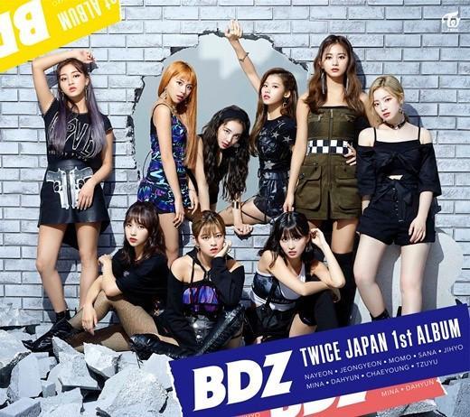 TWICE首张日文专辑《BDZ》夺公信榜周销量冠军