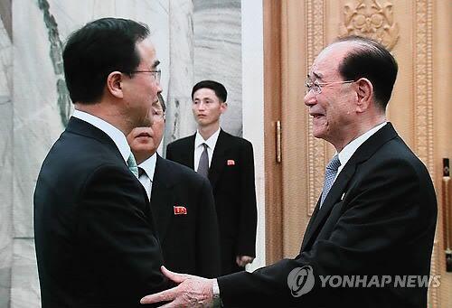 金永南:金文会成开启半岛和平繁荣统一的重要契机