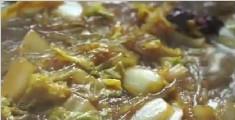 猪肉白菜炖粉条的制作方法