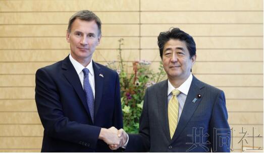 安倍与英国外交大臣会谈 确认加强安保领域合作