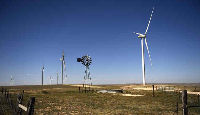 美最大单相风力发电站竣工 将为企业和家庭输送电力