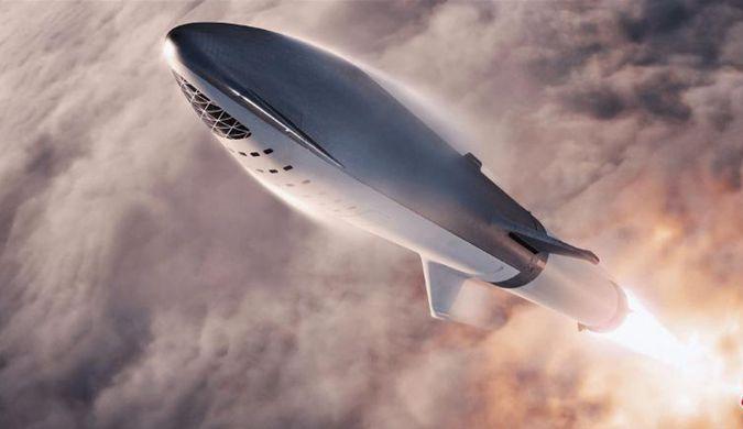 SpaceX公布太空船概念图 将送日本富豪绕月飞行