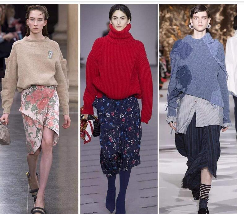 Oversize毛衣和针织开衫, 时尚达人秋季衣橱必备单品