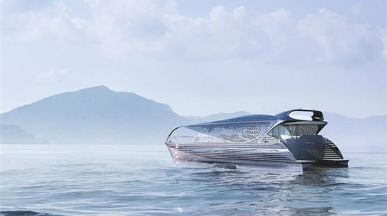 瑞士发布未来派太阳能游艇 无需加油游遍全球