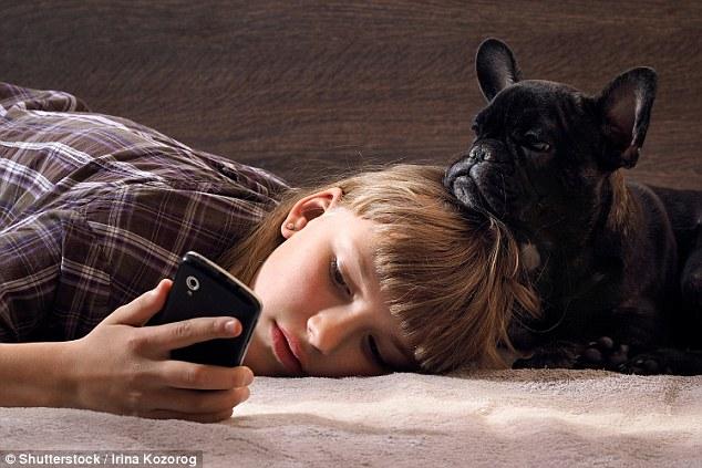 兽医:主人痴迷玩手机可能会令狗狗悲伤