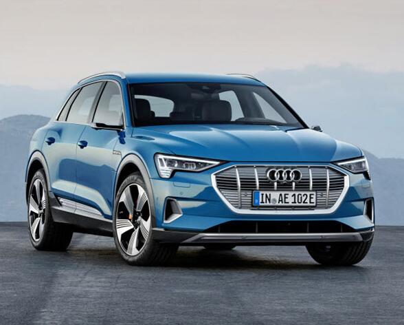 奥迪发布首款纯电动汽车 并将与亚马逊展开合作