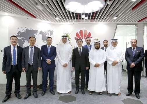 华为成首批在卡塔尔全资科技公司