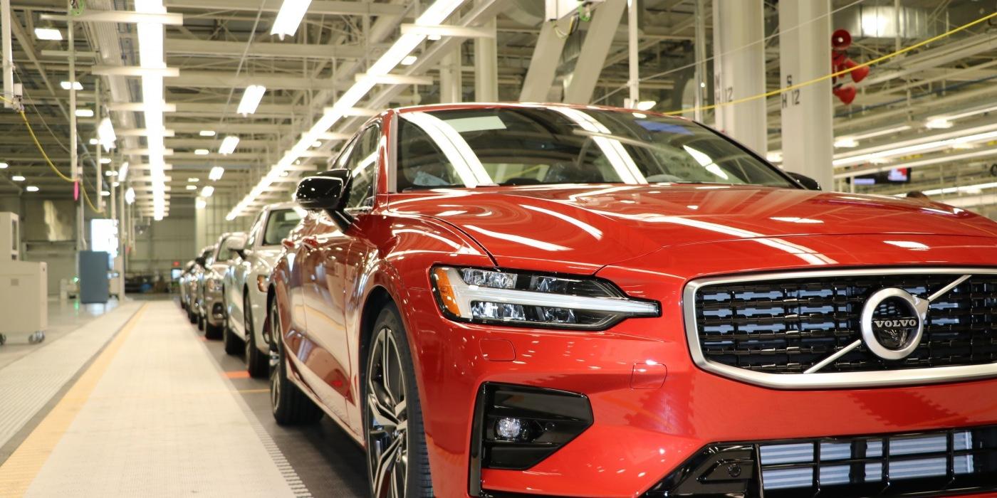 沃尔沃美国首家工厂正式投产 初期生产S60轿车