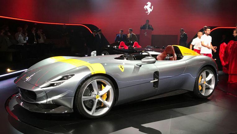 法拉利未来五年推15款新车 首款SUV定名Purosangue