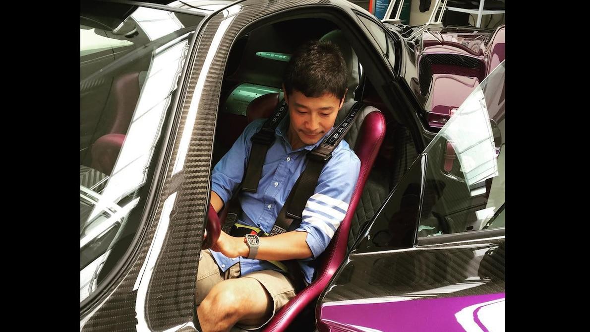 SpaceX环月旅行首位乘客前沢友作:一位狂热汽车收藏家