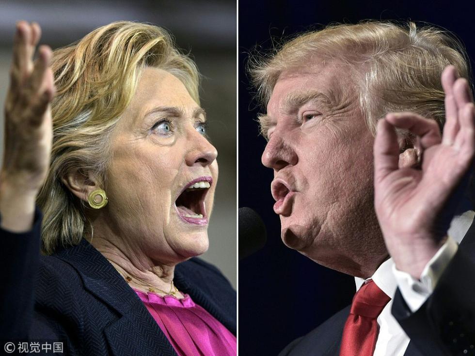 """希拉里:请用中期选举拒绝""""有独裁倾向的""""特朗普"""