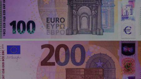 先睹为快 欧洲央行公布新版100欧和200欧的纸币