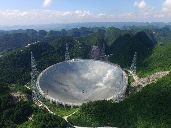 """""""中国天眼""""旅游火了 会不会影响科学探测?"""