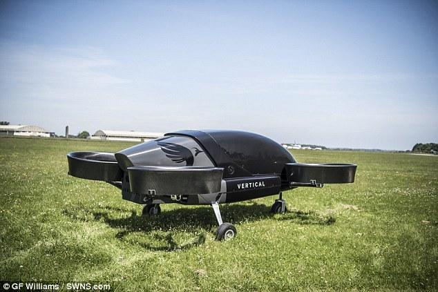 无人飞行出租车预计四年内推出 时速达320km/h
