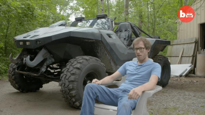 美技师5年时间制作出真正的经典Halo军用车辆