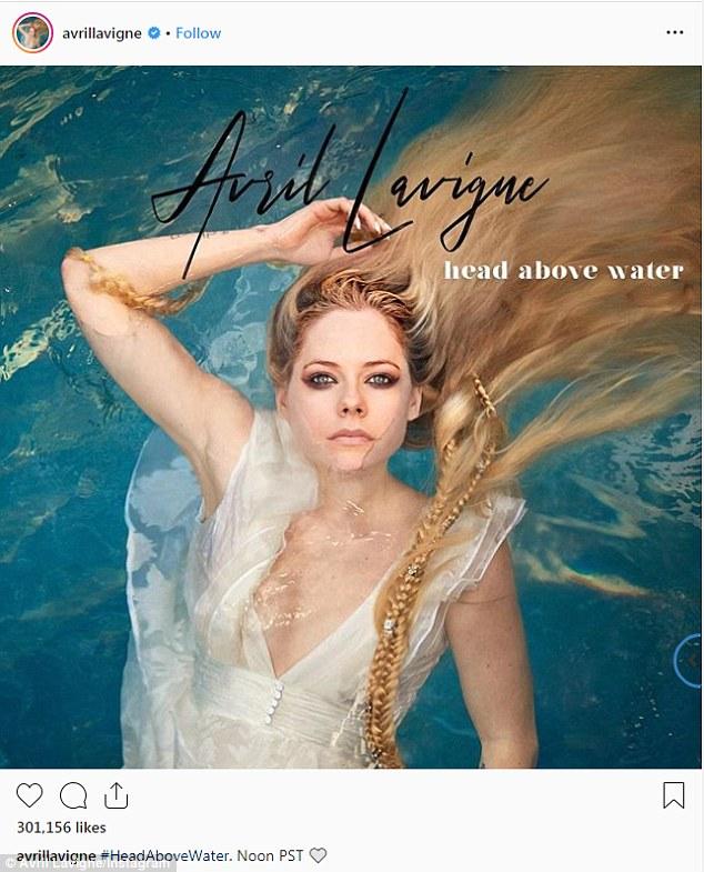 艾薇儿时隔五年回归首发新歌 描述与疾病斗争经历