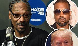 美饶舌歌手Snoop dogg怒怼总统特朗普