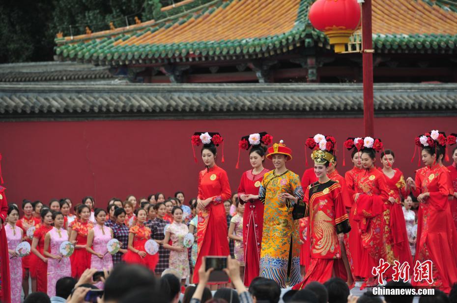 第二届沈阳国际旗袍文化节开幕