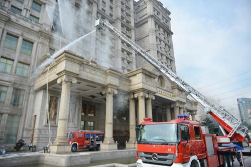 旅游业处置突发事件应急演练在宝山举行