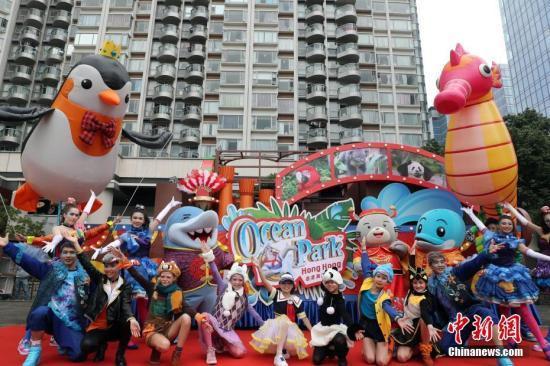 香港海洋公园23日将迎来首个内地高铁旅行团