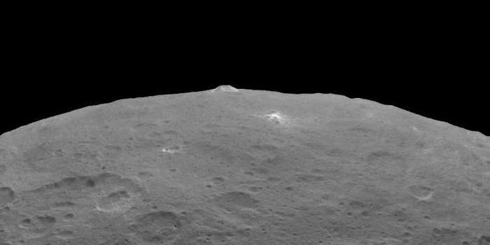 """科学家在谷神星上发现数十座""""冰火山"""""""