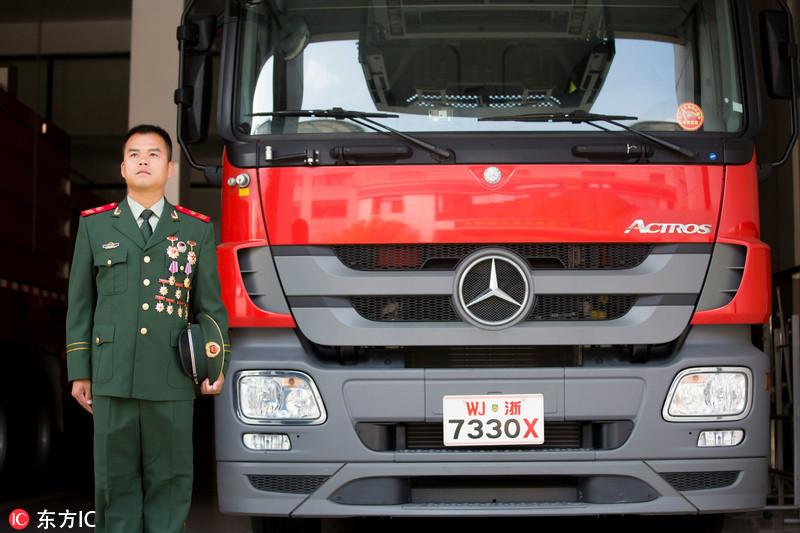 杭州:消防老兵成全国AI救火第一人