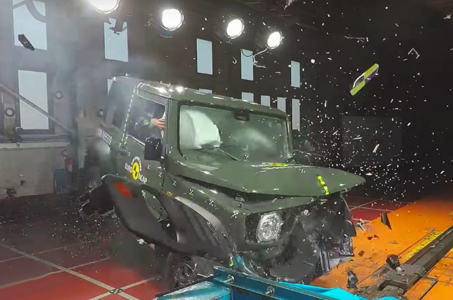 铃木吉姆尼欧洲NCAP新车测试获三星评级