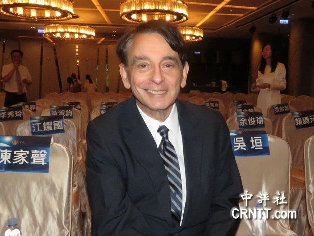 前美国在台协会处长:台湾选择统一 美国不会反对