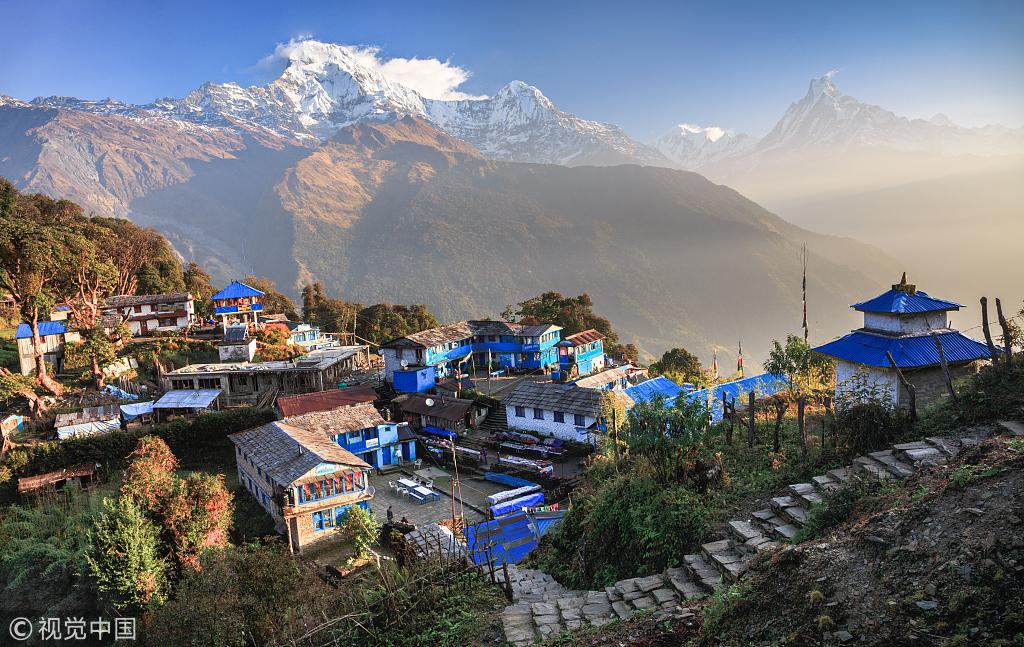 今年前8个月赴尼泊尔中国游客同期增长45%