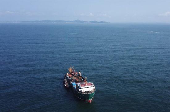 重大发现!大连庄河海域发现甲午海战沉舰