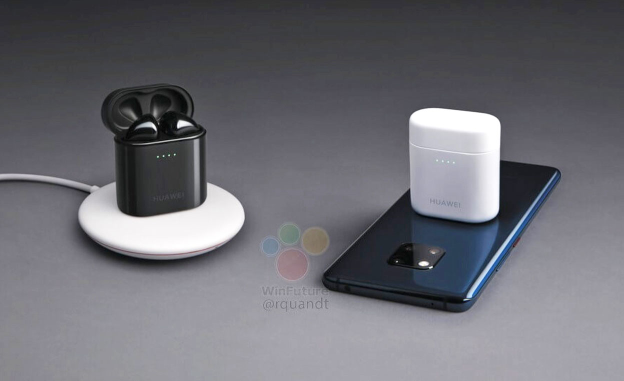 华为拟推无线耳机Freebuds2 Pro  可为手机充电