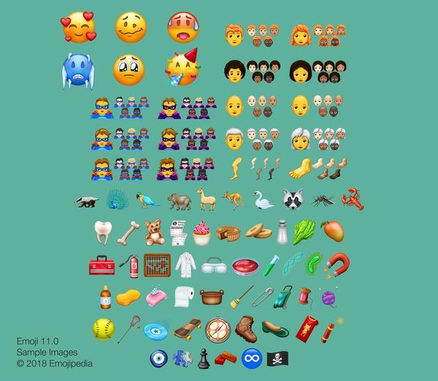 全新Emoji表情诞生 中秋节可用Emoji传情