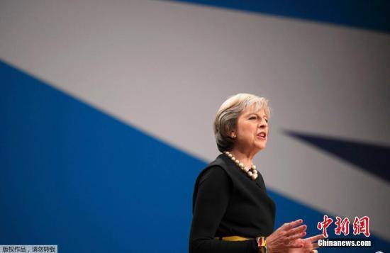 """英国首相:既已选择""""脱欧"""" 不会再举行公投"""