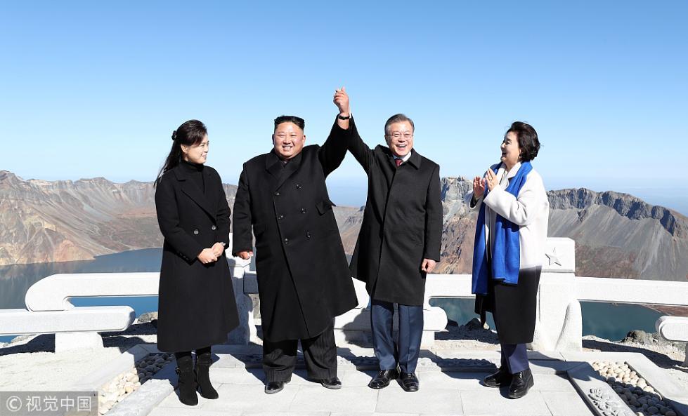"""韩国民调:七成韩国人积极评价平壤""""文金会"""""""