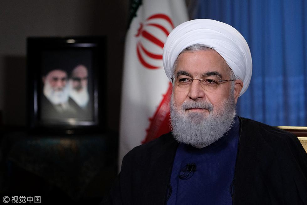 鲁哈尼:敢和伊朗对抗 特朗普将像萨达姆一样失败