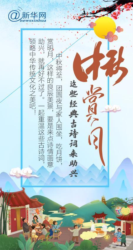 【网络中国节】中秋赏月,这些经典古诗词来助兴
