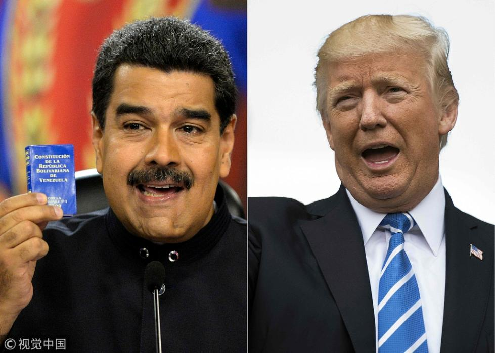 """""""制裁""""不够?美国称对委内瑞拉政府施压将""""加码"""""""
