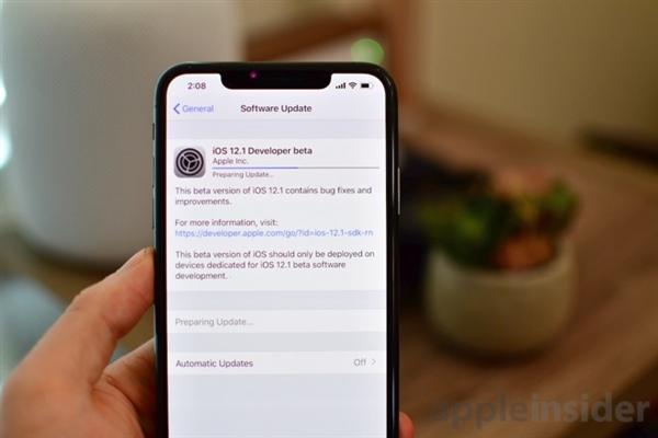iOS 12.1新公测版本发布:竟然只支持新iPhone