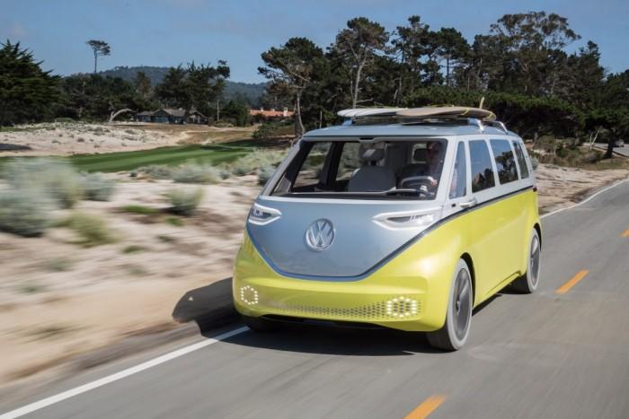 大众电动Microbus衍生出面包车版本
